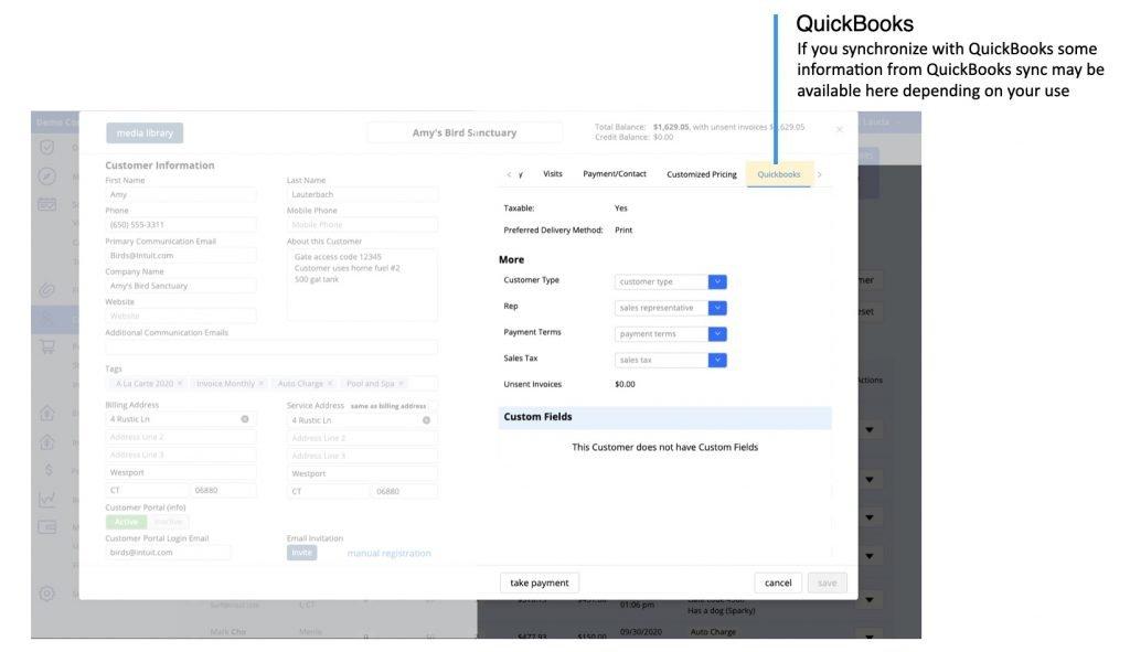 Ignition Software Customer Profile QuickBooks